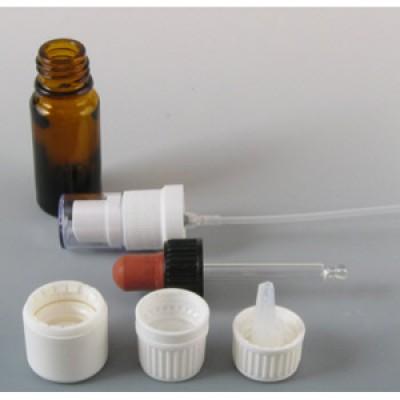 Medizinflasche 30 ml braun (ohne Verschluß)