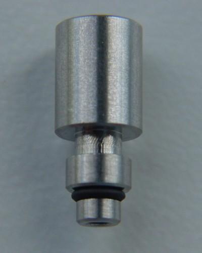 Adapter für hydrophoben Bakterienfilter