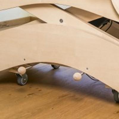 RS Rädergestell für Holzliege