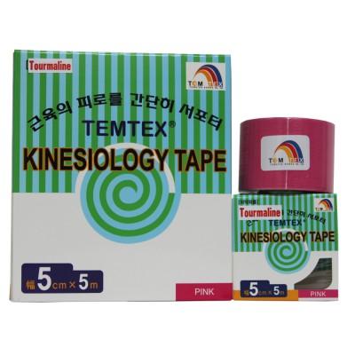 Turmalin Tape, 5 cm x 5 m mit negativ geladenen Ionen, pink