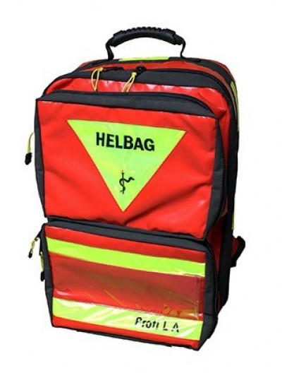 Helbag Profi L 2.1 HELtex - rot - ohne Modultaschen