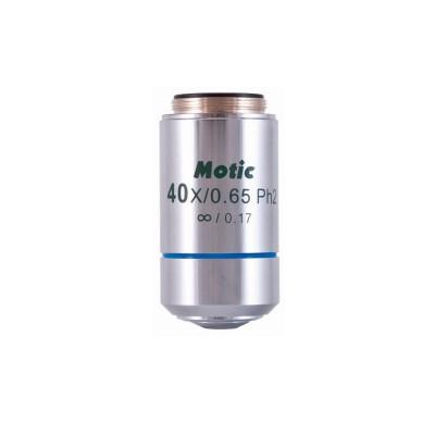 Motic CCIS Plan achromat. Phasenobjektiv positiv EC-H PLPH 40x/0.65 (Feder)