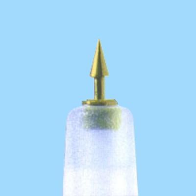 ASP-Dauernadeln, 8 Stck/Streifen, GOLD
