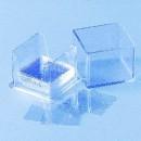 Mikroskopische Deckgläser, 50 St. 22 x 22 mm