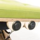 RS Handschalter verbaut in Holzkorpus für Verstellung Lagerungsflächen
