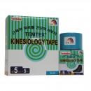 Turmalin Tape, 5 cm x 5 m mit negativ geladenen Ionen, blau