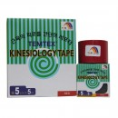 Kinesiologisches Tape, 5 cm x 5 m rot