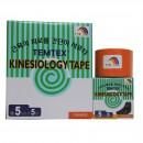 Kinesiologisches Tape, 5 cm x 5 m orange