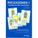 Reflexzonenkarten 1, Set best.aus: Hände Füße, Rücken, Brust, Gesicht DIN A 5