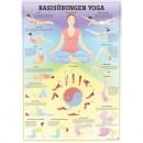Mini-Poster Basisübungen Yoga Format 23 x 33 cm